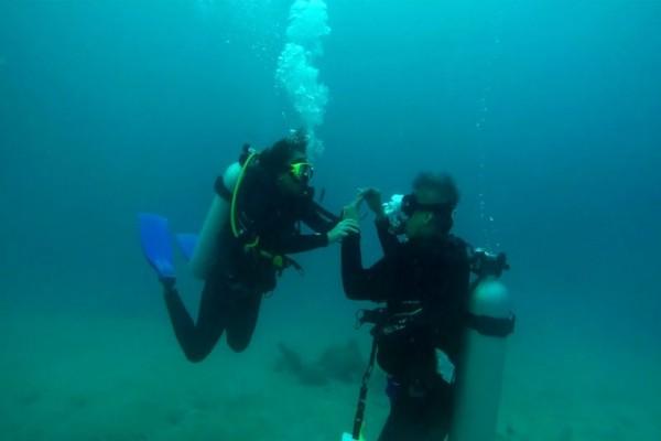 engage scuba